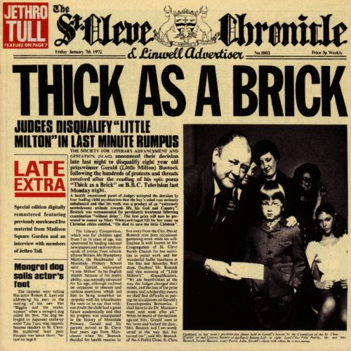 Thick As A BrickJethro Tull